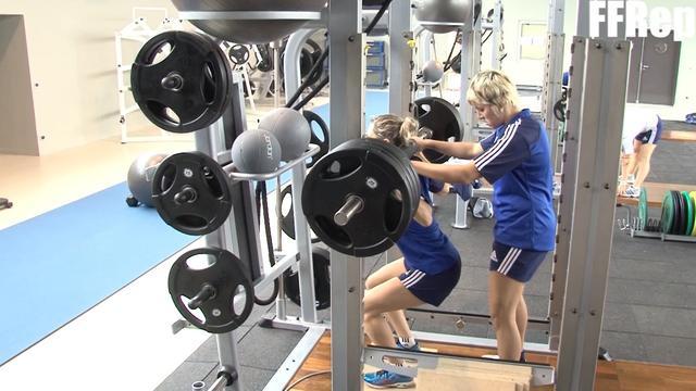 VIDEO. Les filles de l'équipe de France enchaînent les tests physiques avant la tournée
