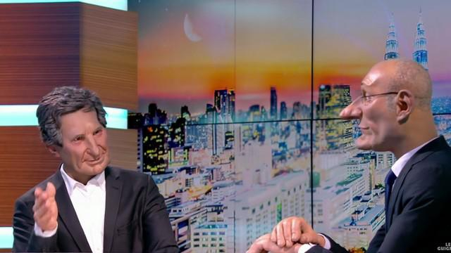 VIDEO. INSOLITE. Les Guignols - Jean-Jacques Bourdin interviewe Bernard Laporte sur la liste de Guy Novès
