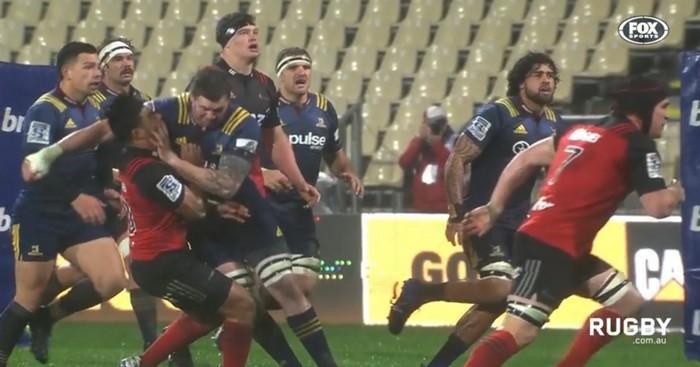 RÉSUMÉ VIDÉO. Super Rugby - Les Highlanders ont bu la tasse face aux Crusaders