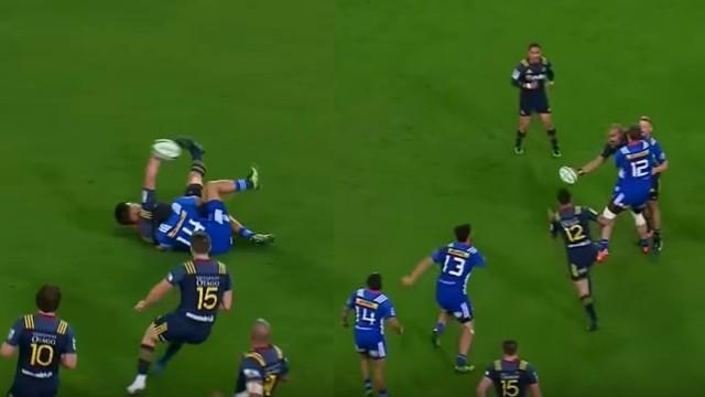 VIDEO. Super Rugby - Rob Thompson et Patrick Osborne réalisent deux offloads impossibles