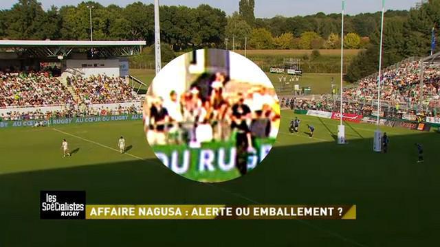VIDEO. Top 14. Pau - MHR. Les images zoomées de Canal + donnent raison à Timoci Nagusa