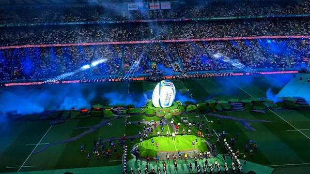 Video les images de la superbe c r monie d 39 ouverture de - Qui a gagner la coupe du monde de rugby 2015 ...