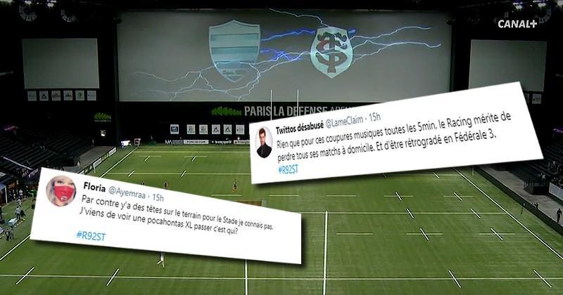 L'ambiance discothèque, Ramos, Thomas, les réseaux sociaux fascinés par Racing vs Toulouse