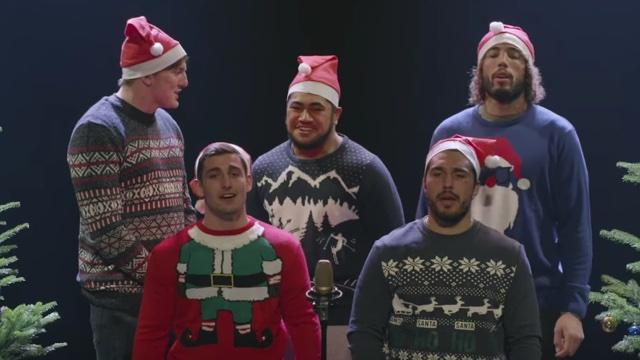 VIDÉO. INSOLITE. Les joueurs de l'ASM vous souhaitent un joyeux Noël avec une horrible chanson