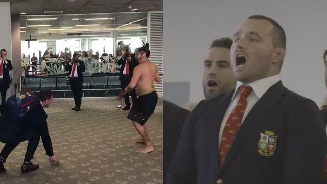 VIDEO. INSOLITE. Les Lions répondent à l'accueil traditionnel des Néo-Zélandais par un superbe chant gallois