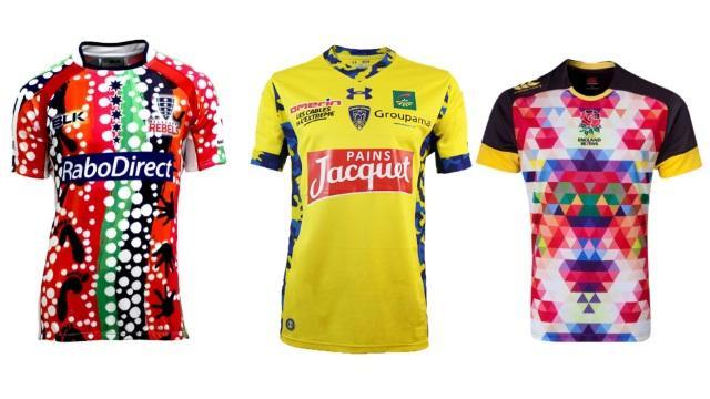 PHOTOS. Le classement des maillots de rugby les plus WTF de l'histoire