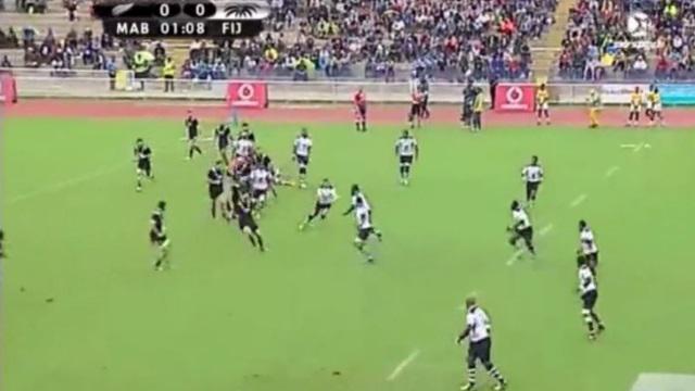 RESUME VIDEO. Les Maori All Blacks battent les Fidji sur le fil dans un match de hourra rugby