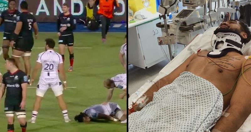 Les nouvelles sont bonnes pour Michael Fatialofa (Worcester), opéré de la colonne vertébrale