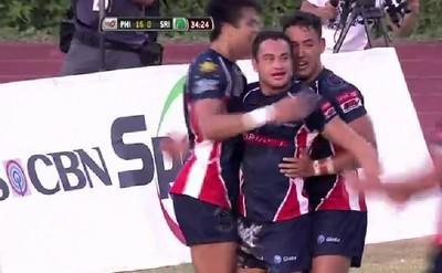 Les Philippines rejoignent l'Elite du rugby asiatique après leur victoire contre le Sri-Lanka