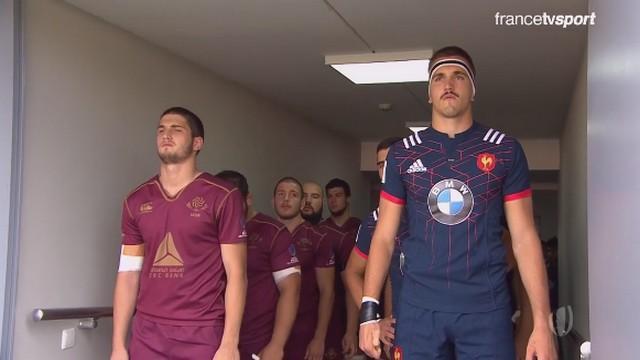 Championnat du monde U20 - Les 5 points à retenir de la victoire de la France sur la Géorgie