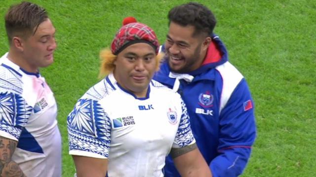VIDÉO. Les Samoans quittent la Coupe du monde en offrant un dernier Siva Tau à leur public