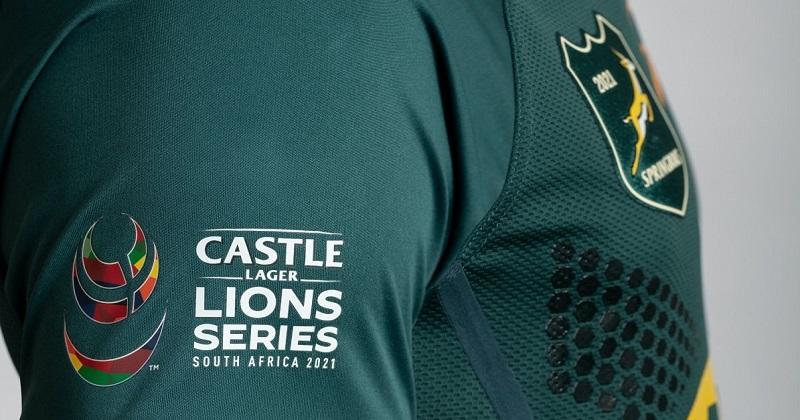 Les Springboks dévoilent un maillot unique pour la tournée des Lions