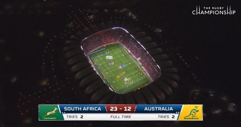 VIDEO. Rugby Championship - Les Springboks mangent du Kangourou, appétissant animal