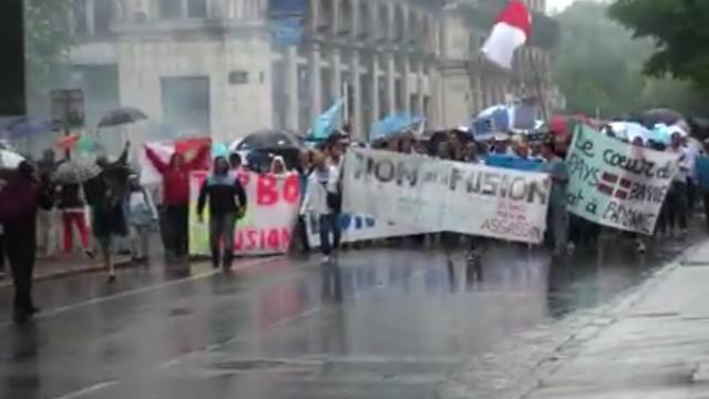 VIDEO. Pro D2. Bayonne mobilisé contre l'union basque, son maire pose ses conditions