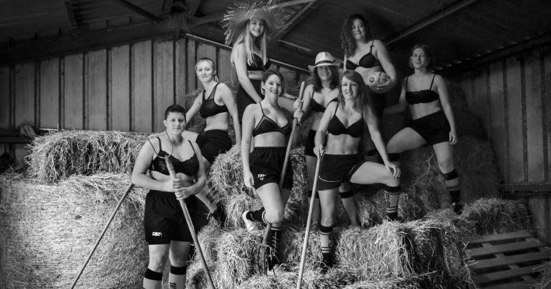 Les Tigresses de Reims la jouent sexy pour leur calendrier 2020 ! [PHOTOS]