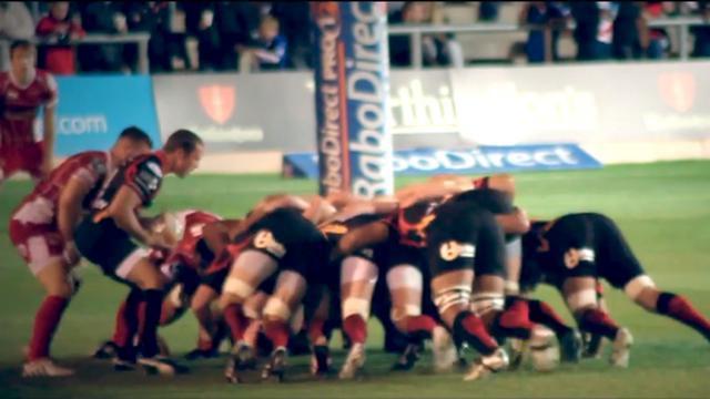 VIDEO. Les très belles images au ralenti du match entre les Newport Gwent Dragons et les Scarlets