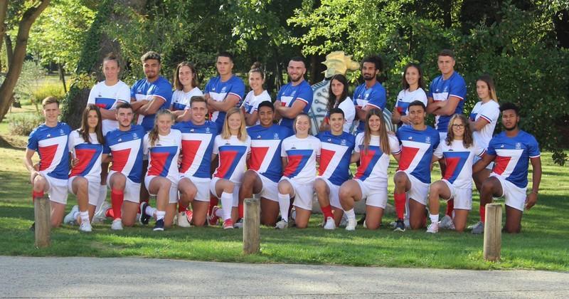 Rugby à VII - Les Tricolores prêts à défendre leur titre aux Jeux olympiques de la Jeunesse