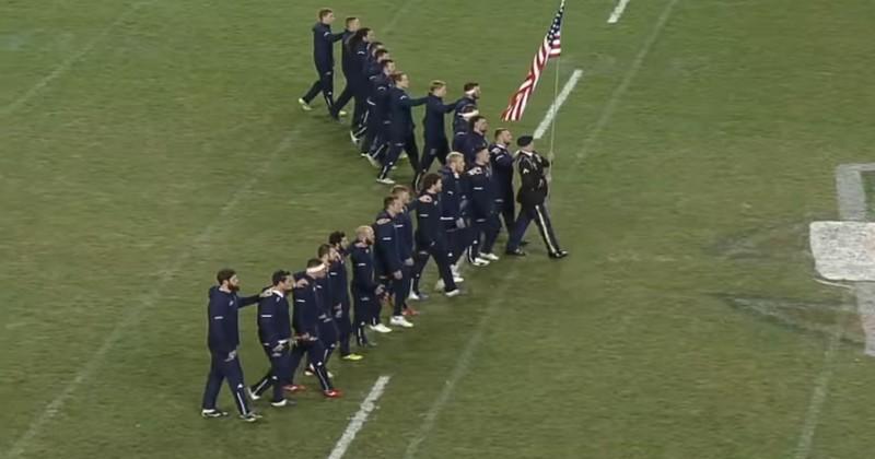 VIDÉO. Les USA se la jouent XV de France lors du haka des Maori All Blacks