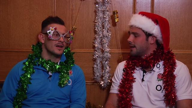 VIDEO. Danny Care et Ben Foden poussent la chansonnette pour Noël