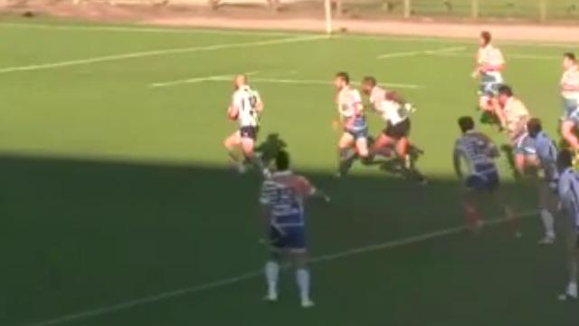 VIDEO. Rugby amateur #100 : l'essai de folie de l'US Marmande après 60M, 12 passes et sept temps de jeu