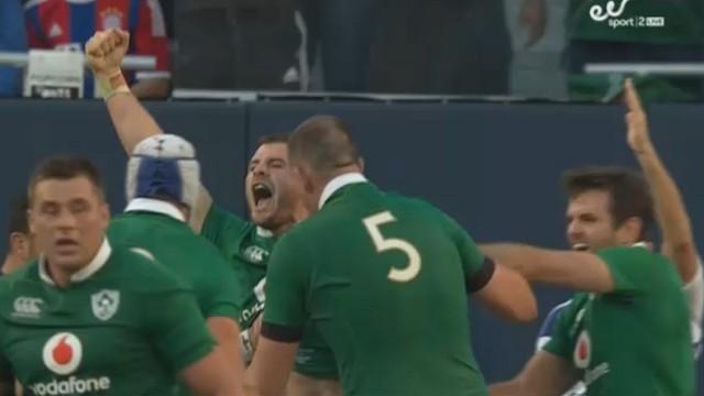 VIDÉO. L'exploit de l'Irlande qui fait tomber les All Blacks à Chicago (40-29)