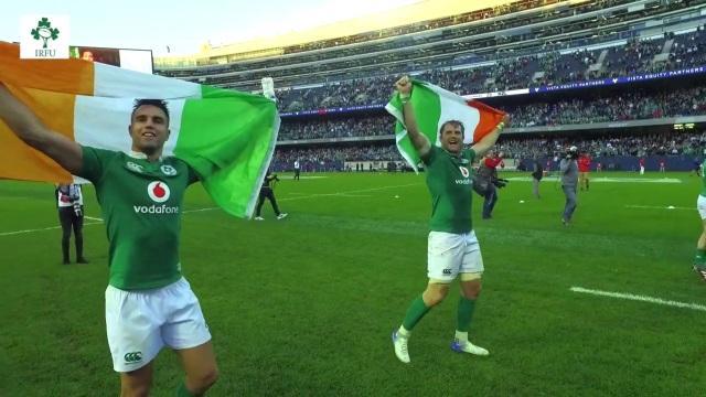 VIDEO. Dans les coulisses de l'exploit de l'Irlande, victorieuse des All Blacks pour la première fois