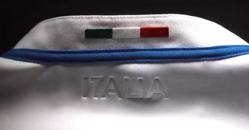 IMAGES. L'Italie dévoile son superbe nouveau maillot extérieur