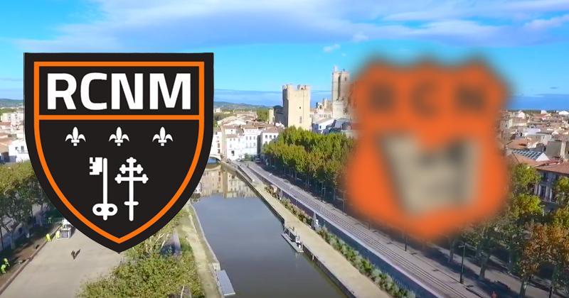 Fédérale 1 - Narbonne revient aux racines du club avec un nouveau logo et un nouveau nom