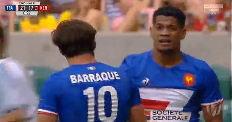 London 7s - Grâce à son jeu de mouvement, la France se qualifie pour la Cup [VIDEO]