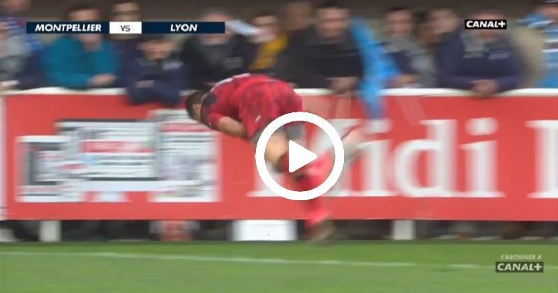 Le geste acrobatique d'Arnold pour la victoire de Lyon à Montpellier [VIDÉO]