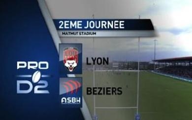 Le résumé de la branlée infligée par Lyon à Béziers