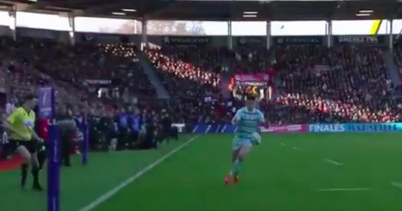 La pépite Louis Rees-Zammit refroidit Ernest-Wallon après 2 minutes de jeu [Vidéo]