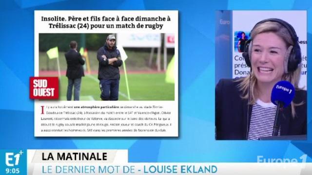 VIDEO. Envie de tout plaquer, mettez-vous au rugby : le billet de Louise Ekland sur Europe 1