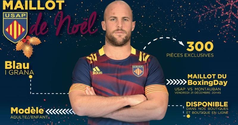 L'USAP sort un maillot collector de Noël... aux couleurs du Barça !