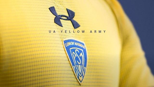 PHOTOS. Les nouveaux maillots de l'ASM Clermont pour la saison 2016/2017