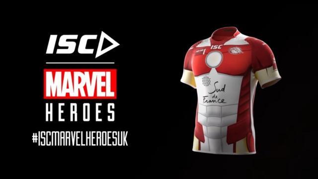 VIDEO. Après la NRL, les maillots de super-héros Marvel arrivent en Europe et en Super League