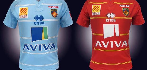 Les maillots 2012-2013 de Perpignan