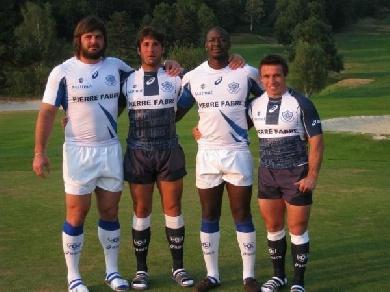 Les maillots 2012-2013 du Castres Olympique