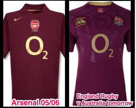 Les nouveaux maillots de l'équipe d'Angleterre font débats