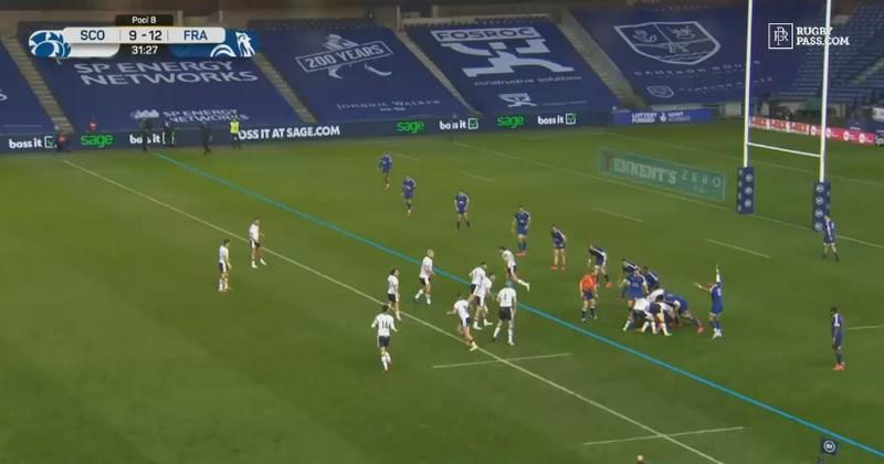 Mais au fait, c'était quoi ces lignes bleues aperçues à l'écran lors d'Ecosse-France ?