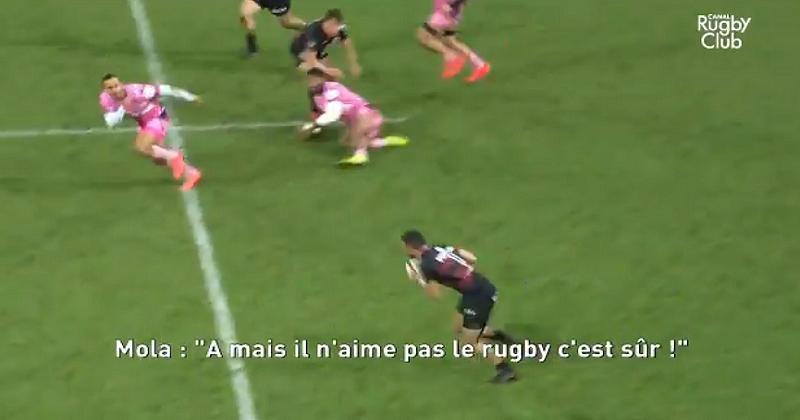 ''Mais il n'aime pas le rugby, c'est sûr !'', quand Mola se lâche sur Trainini [VIDÉO]