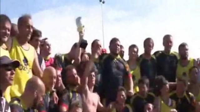 INSOLITE. Le trophée du champion de Suisse a été égaré dans la nature
