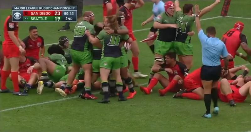 Major League Rugby - Seattle souffle la victoire à San Diego dans les arrêts de jeu [VIDÉO]