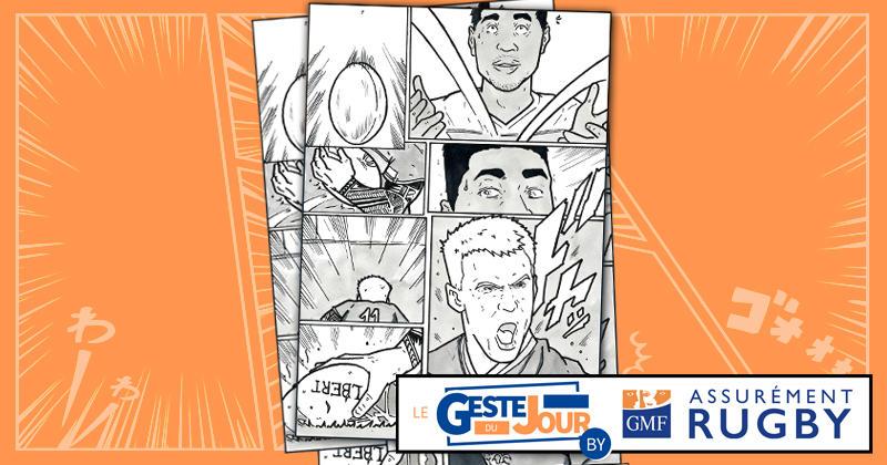 Le geste du jour en Manga : le premier essai de la Coupe du monde signé Kirill Golosnitskiy !