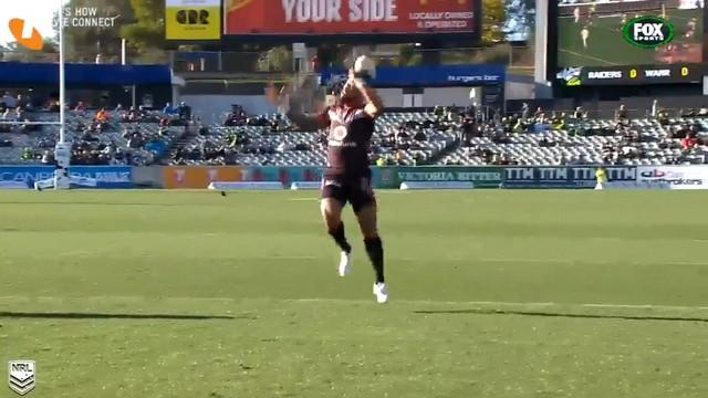 VIDEO. NRL - Le jongle improbable de Manu Vatuvei pour l'essai des Warriors