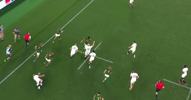 Accélération, par-dessus, passe sur un pas : Mapimpi marque le premier essai du match ! [Vidéo]