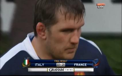 Rétro 2011: La défaite surprise de l'Equipe de France en Italie au Tournoi