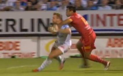 VIDEO. A l'attaque de Marvin O'Connor, deux joueurs de l'USAP cités