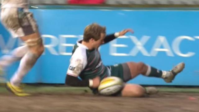 VIDEO. Mathew Tait se prend pour Brian O'Driscoll mais se tape la honte avec un en-avant dans l'en-but
