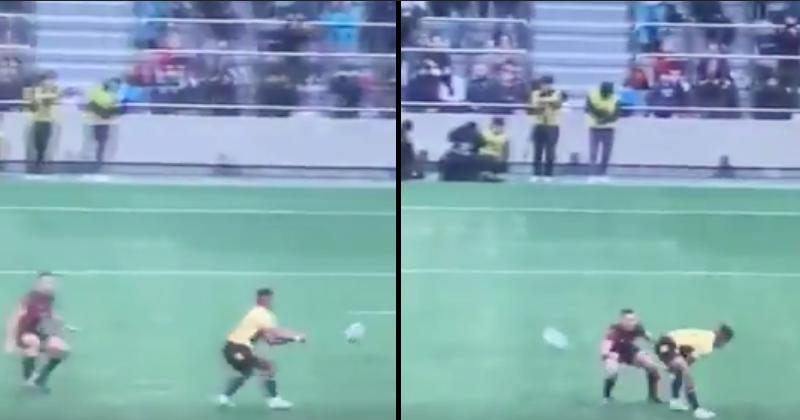 Top League  - La passe entre les jambes magistrale de Kotaro Matsushima [Vidéo]
